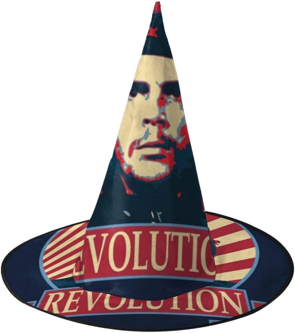 OJIPASD Che Guevara Revolution Sombrero de Bruja Unisex Disfraz para Vacaciones, Halloween, Navidad, Carnaval, Fiesta: Amazon.es: Productos para mascotas