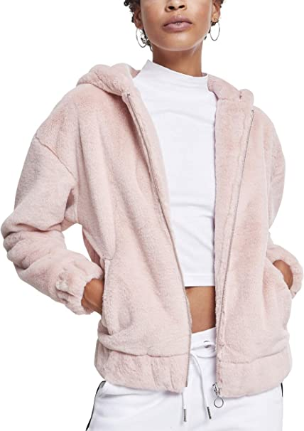 Urban Classics Ladies Teddy Jacket Chaqueta para Mujer ...