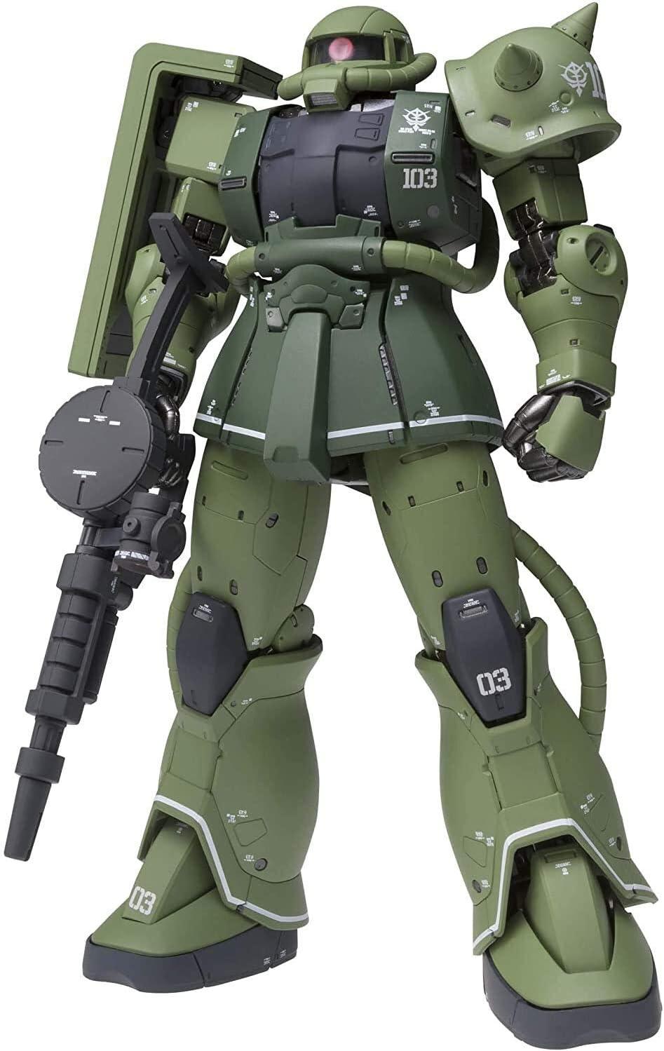 Mobile Suit Gundam: El origen MS-06C Zaku II tipo C, Bandai ...