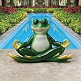 Design Toscano Strike a Pose Zen Yoga Frog Statue Review