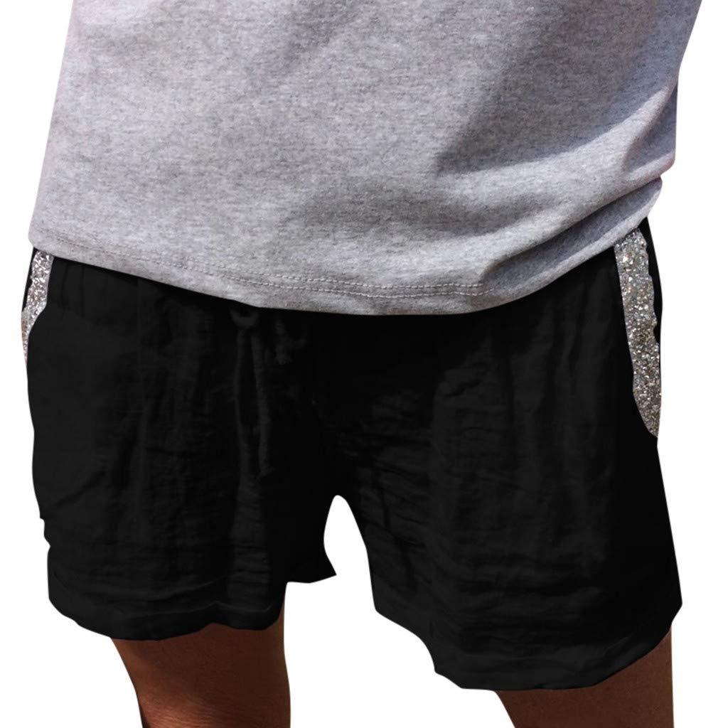 Luckycat Mujer Pantalones Cortos Verano Mallas Pantalones ...
