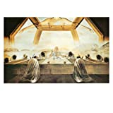 The Sacrament of the Last Supper, c.1955 Art Print by Salvador Dalí 20 x 16in