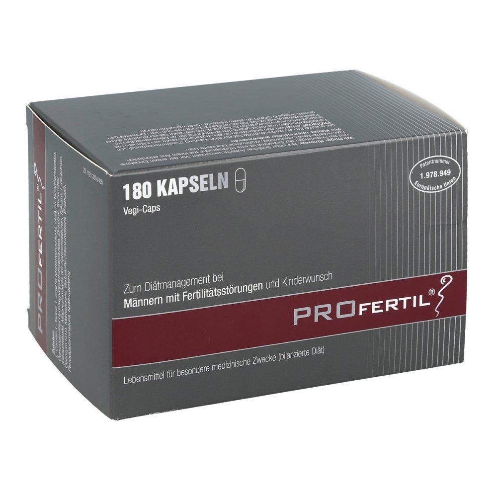 PROfertil Male Fertility Supplement by PROfertil - 180 capsules