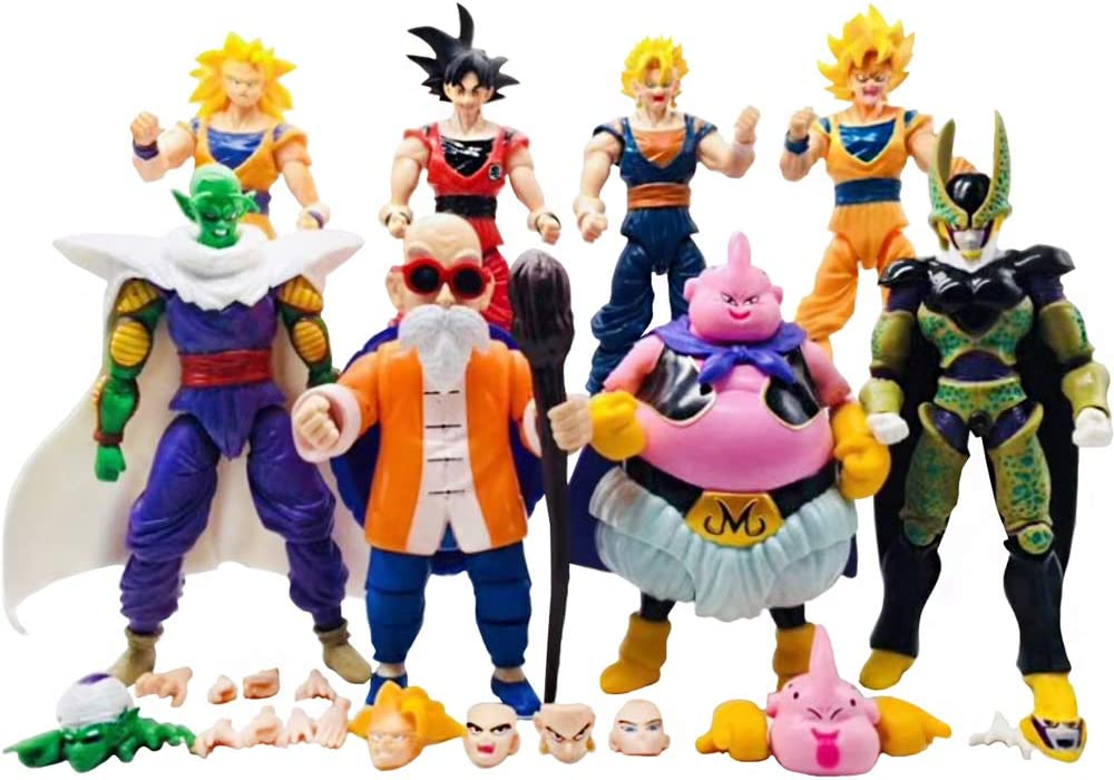 Amazon.com: LOGA - Juego de juguetes Dragon Ball - Juego de ...