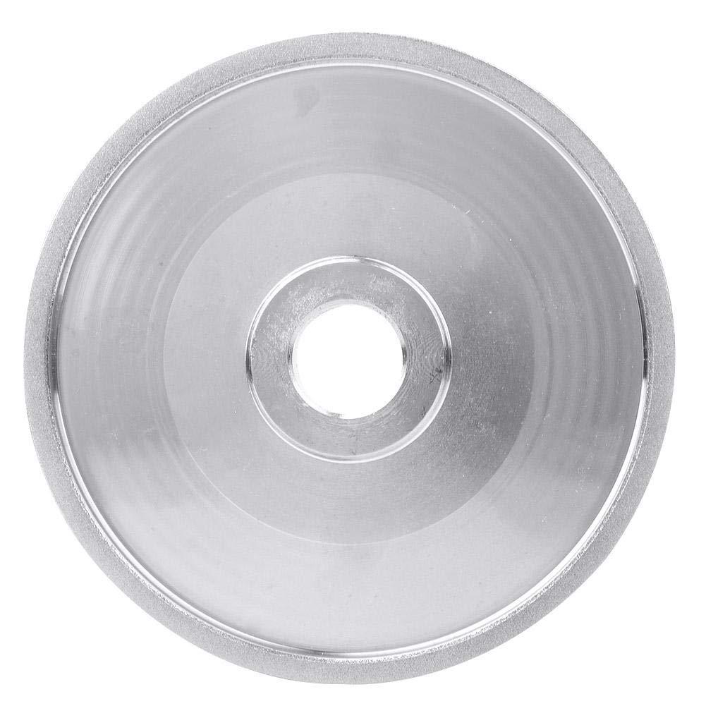 muela abrasiva de diamante Muela abrasiva de 150 mm para accesorios de herramientas el/éctricas de molienda de piedra met/álica muela de disco abrasivo de diamante CBN
