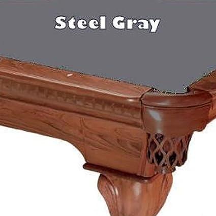 Charmant 7u0027 Steel Gray ProLine Classic 303 Billiard Pool Table Cloth Felt