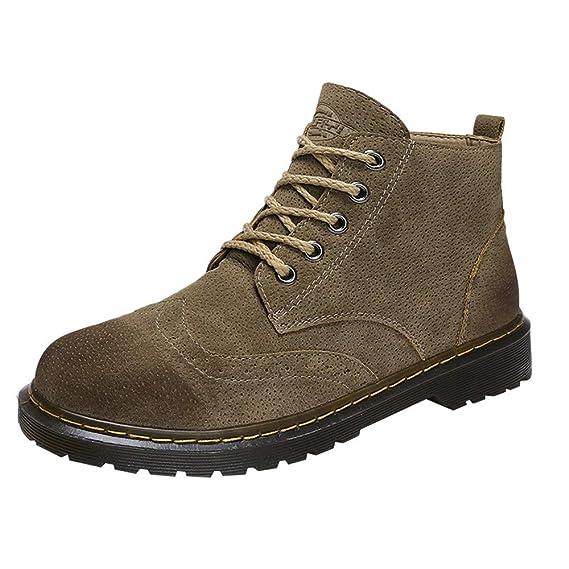 ZODOF Botas de Mujer Zapatos de Cremallera de Ocio de Las Mujeres Plataforma tacón Grueso Antideslizante Punta Redonda Navidad Boots: Amazon.es: Ropa y ...