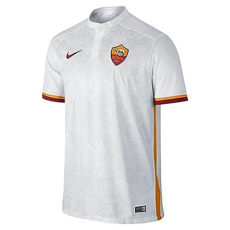 Nike Mens Roma Away Stadium Jersey [FOOTBALL WHITE] (M)