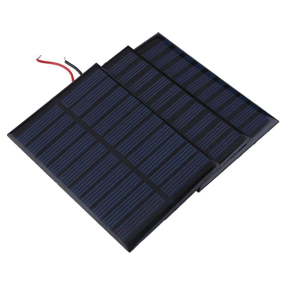 Solar Battery Charger Solar Battery Charger 5V 0.8W 160mA Charging Cell Phones, High Conversion Rate, High Efficiency Output, for Home Lighting by Elec tech (Image #2)