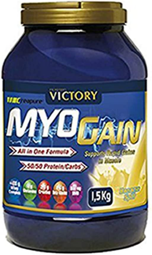 Weider Myo Gain, Complejo de Proteína de Leche, Sabor Plátano - 1500 gr