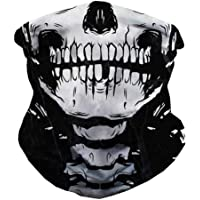 iHeartRaves Seamless Face Cover Mouth Mask Scarf Bandanas Neck Gaiter - Dust & UV Sun-Protection for Festivals and Outdoors