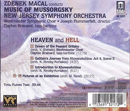 Heaven & Hell: Music of Mussorgsky - Pictures at an Exhibition / Introduction to Khovanshchina