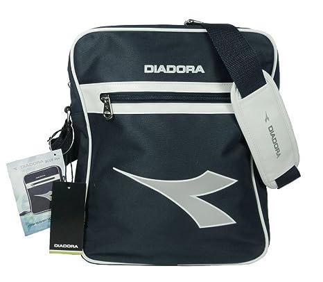 3235ea53d46b4 DIADORA MESSENGER BLUE 654 bag borsa borsello unisex tracolla (Misure  cm  34x28x10)