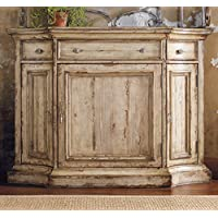 Hooker Furniture Wakefield Three-Door Three-Drawer Buffet in Taupe