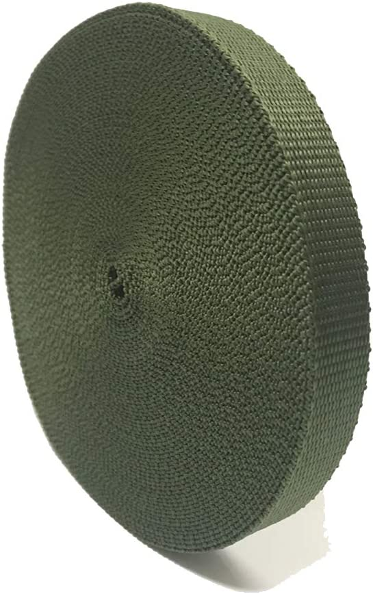 SN28 Green Tree Tie Strap 3/4'' x 50' Garden Tie for Staking and Guying, 1,500 Lbs Strength