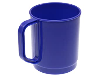 Highlander - potable taza, polipropileno, 275 ml - azul ...
