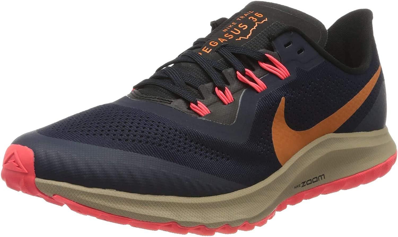 Nike Men's Track & Field Shoes Obsidian/Magma Orange-black