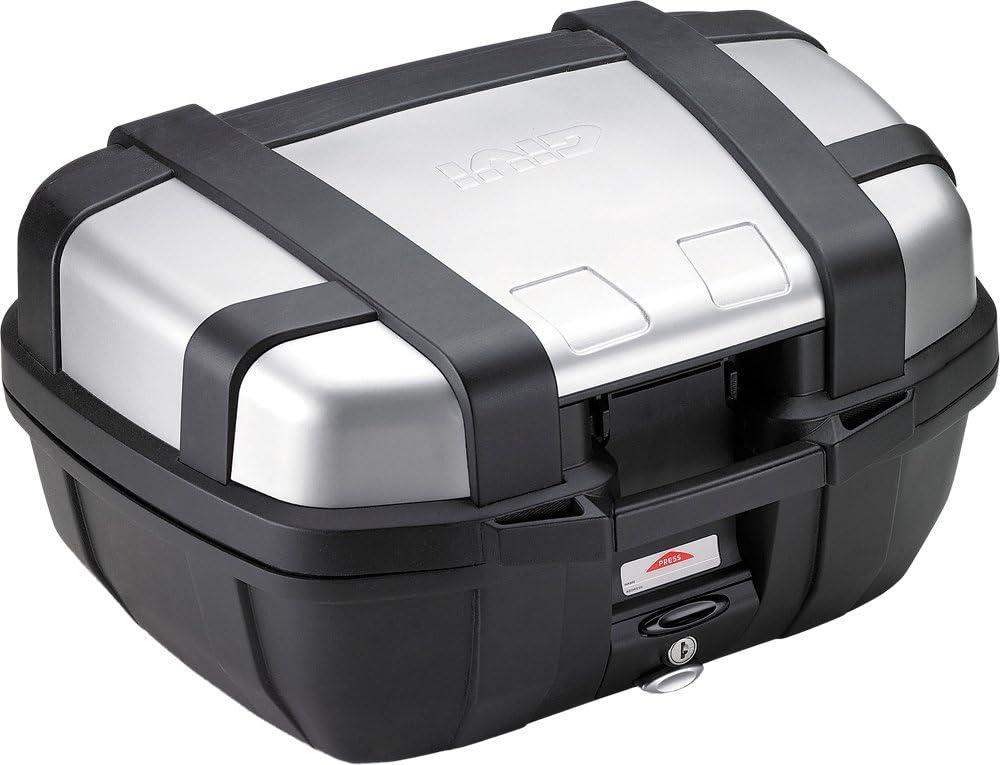 Givi TRK52N Trekker 52-Monokey Baúl con Cover de Aluminio, Carga Máxima 10 Kg