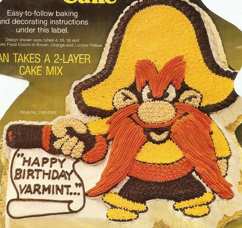 Wilton Yosemite Sam Cake Pan (502-2908, 1981) Warner Bros. ()