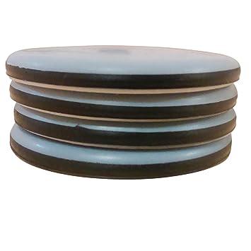 mm PTFE Furniture Slider Gliders  Pack - Self Adhesive