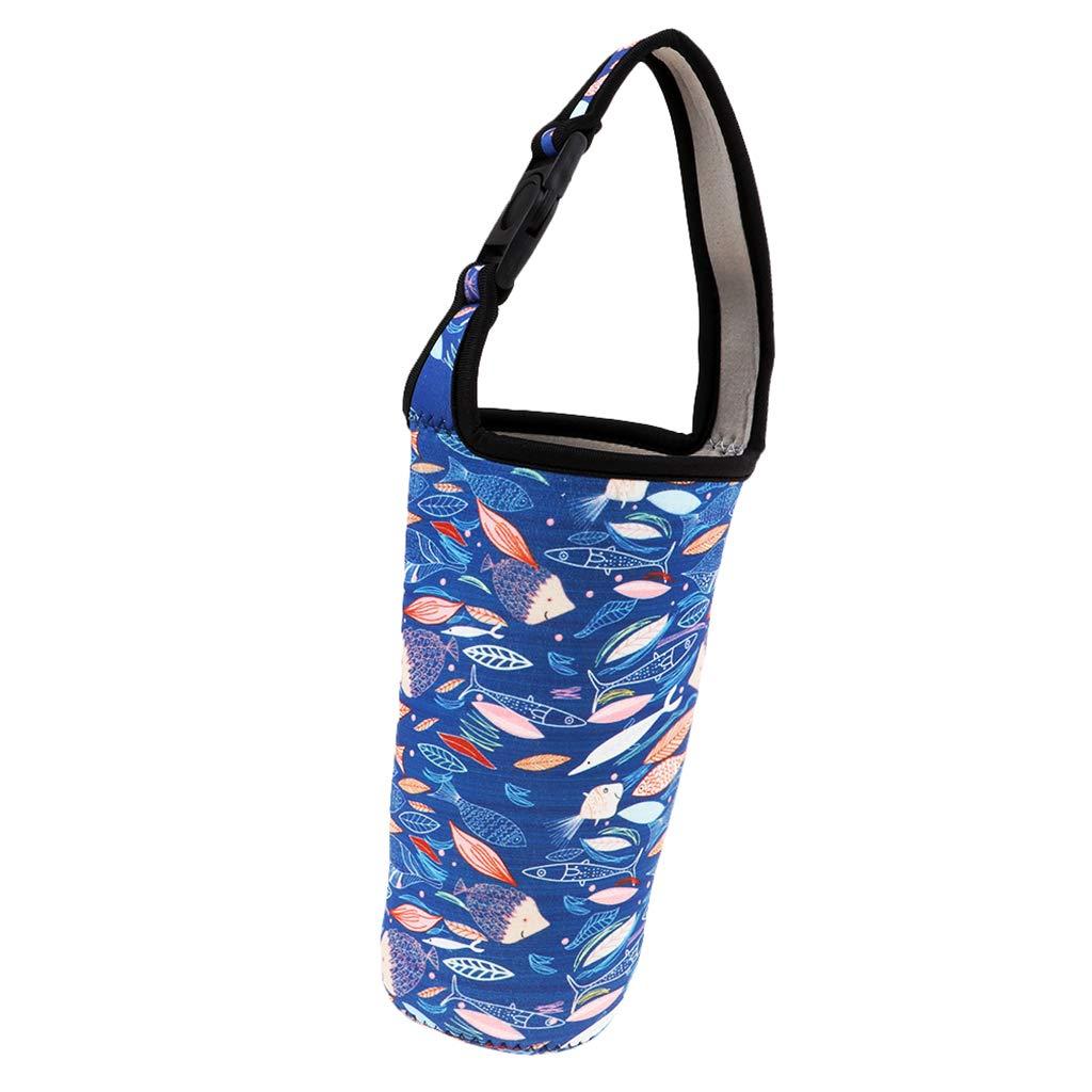 IPOTCH Bolsa de Botella de Agua con Aislamiento T/érmico Plegable y Lavable para Ciclismo Senderismo Acampada Picnic