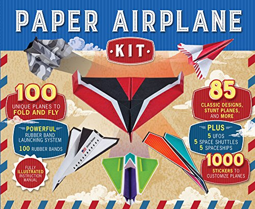 Paper Airplane Kit (Cool Things To Make With Construction Paper)