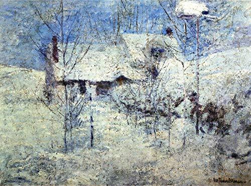 John Twachtman Snowbound 1900 Montclair Art Museum - Montclair, NJ 30
