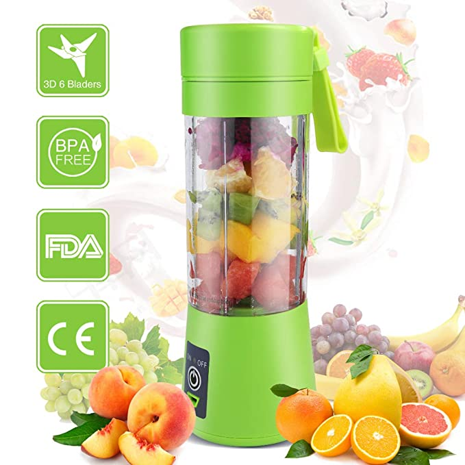 ZOCYE Portable Blender Juicer for ice Blender Cup Usb Rechargeable Beach Smoothie Blender Travel Cup