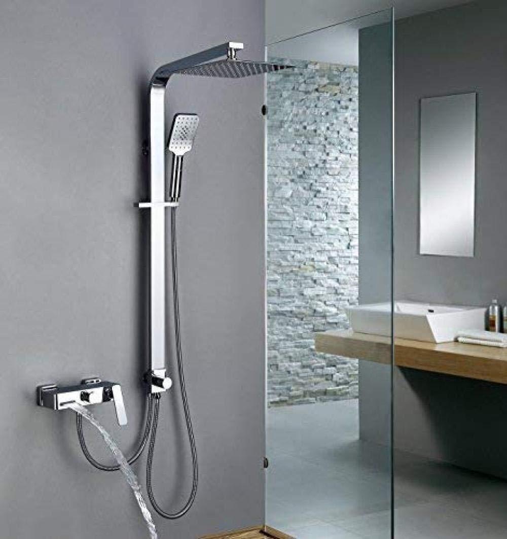 YOYOBANG Columna de Ducha para baño con Mezclador de Ducha ...