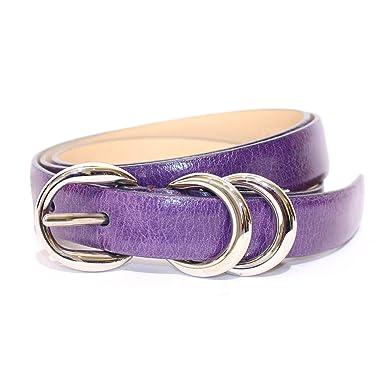 Dolce   Gabbana - Ceinture - Femme Violet aubergine 85 cm  Amazon.fr ... 801529d747e