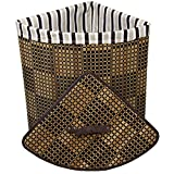 corner laundry hamper