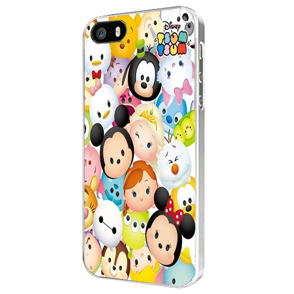 the latest c0e4c fb8ac Disney Characters Tsum Tsum For iPhone Case (iPhone 6 plus white)