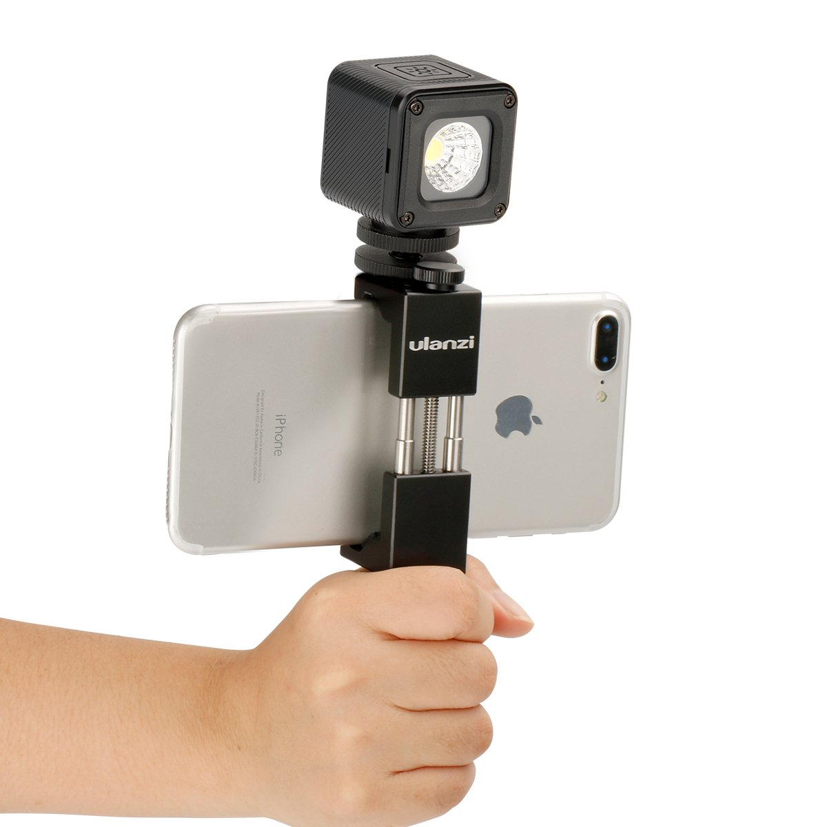 compatible with DJI Osmo Mobile 2 Zhiyun Smooth 4 Smartphone Gimbal Ulanzi Mini LED Video Light on Camera Rechargeable Photo Light with 12 Color Gels for Nikon Canon Sony DSLR