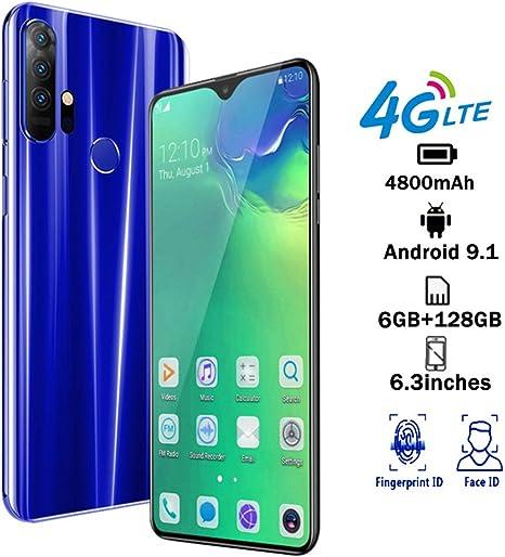S20 4G Smartphone Android 9.1 batería 5000 mah, Pantalla 6.3 HD+ ...