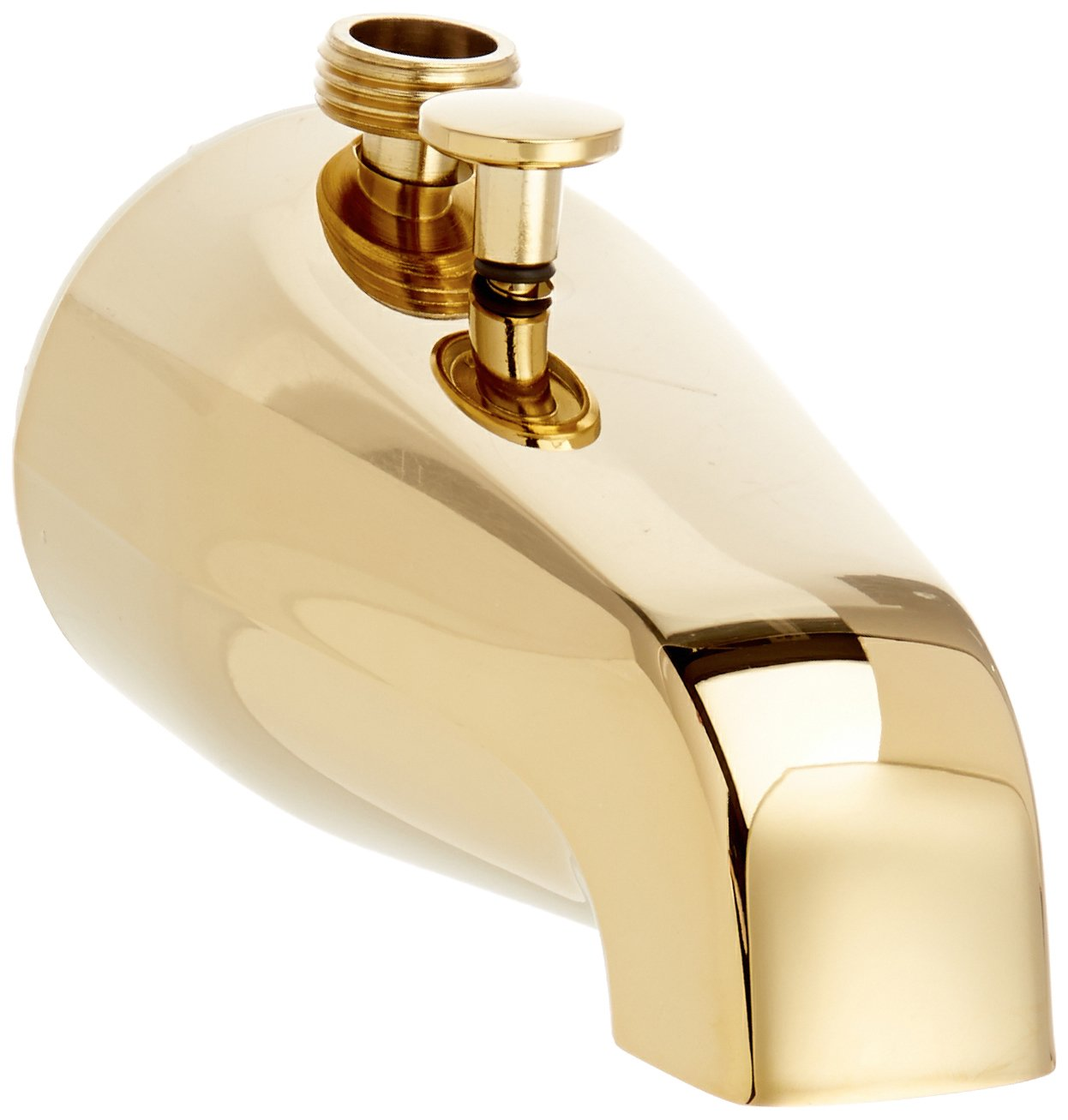Jones Stephens D03010 Polished Brass Diverter Spout with Hand Shower Top Connection