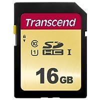 Transcend 16GB SDXC/SDHC 500S Speicherkarte TS16GSDC500S (umweltfreundliche Verpackung)