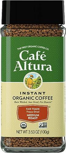 Cafe Altura Freeze Dried Instant Organic Coffee