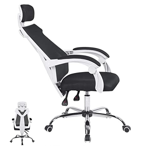 Tremendous Oraf Gaming Office Chair Gaming Racing Ergonomic Chair With Backrest And Seat Height Adjustment Gaming Mesh Swivel Chair Machost Co Dining Chair Design Ideas Machostcouk