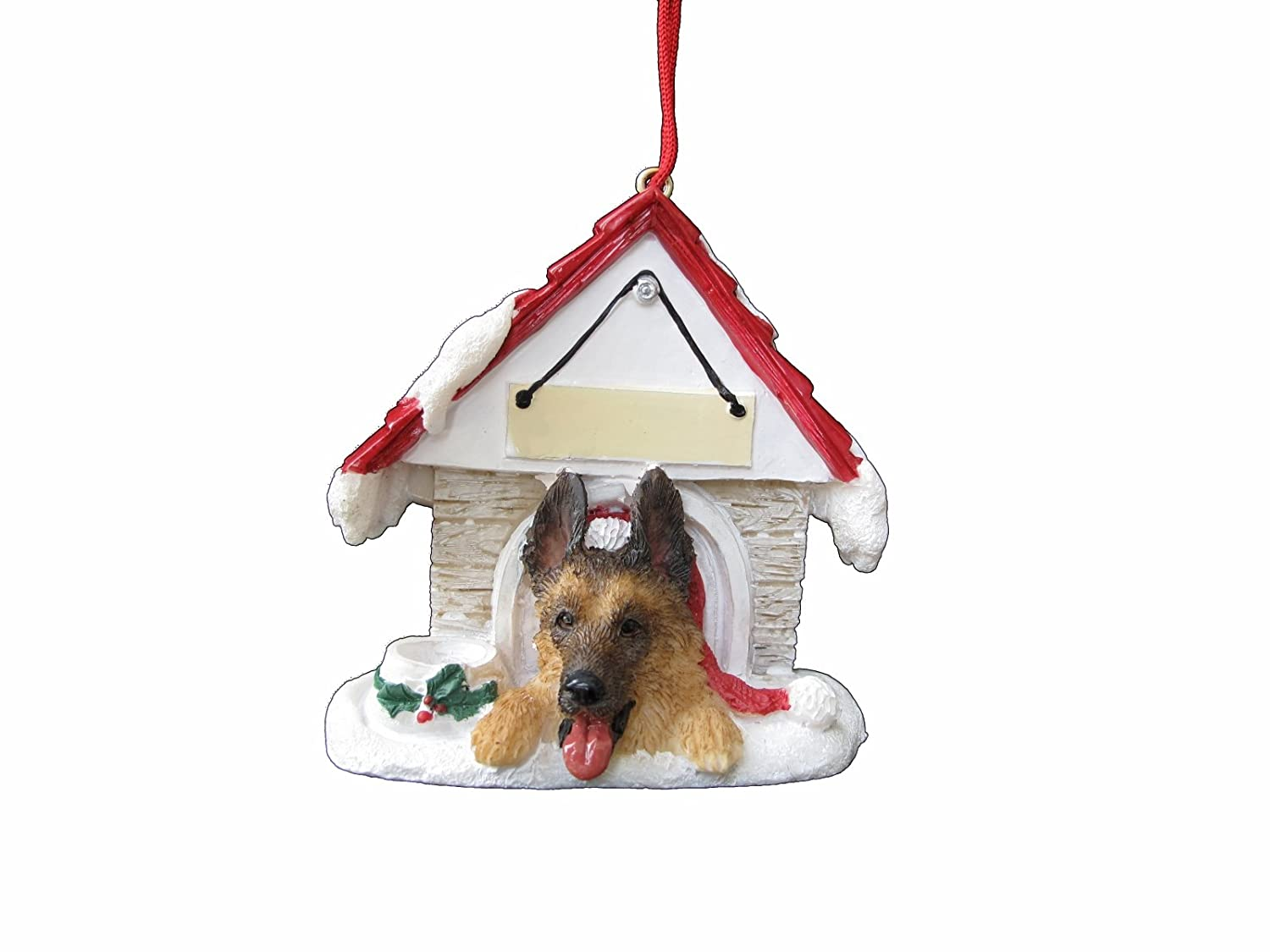 Amazon: German Shepherd Ornament A Great Gift For German Shepherd  Owners Hand Painted And Easily Personalized