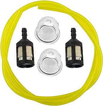 Kraftstoff Schlauch Mit Filter Benzinrohr Kraftstoffschlauch Trimmer Homelite