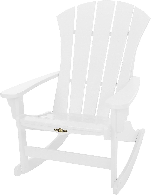 Original Pawleys Island SRAR1WH Durawood Sunrise Adirondack Chair, White