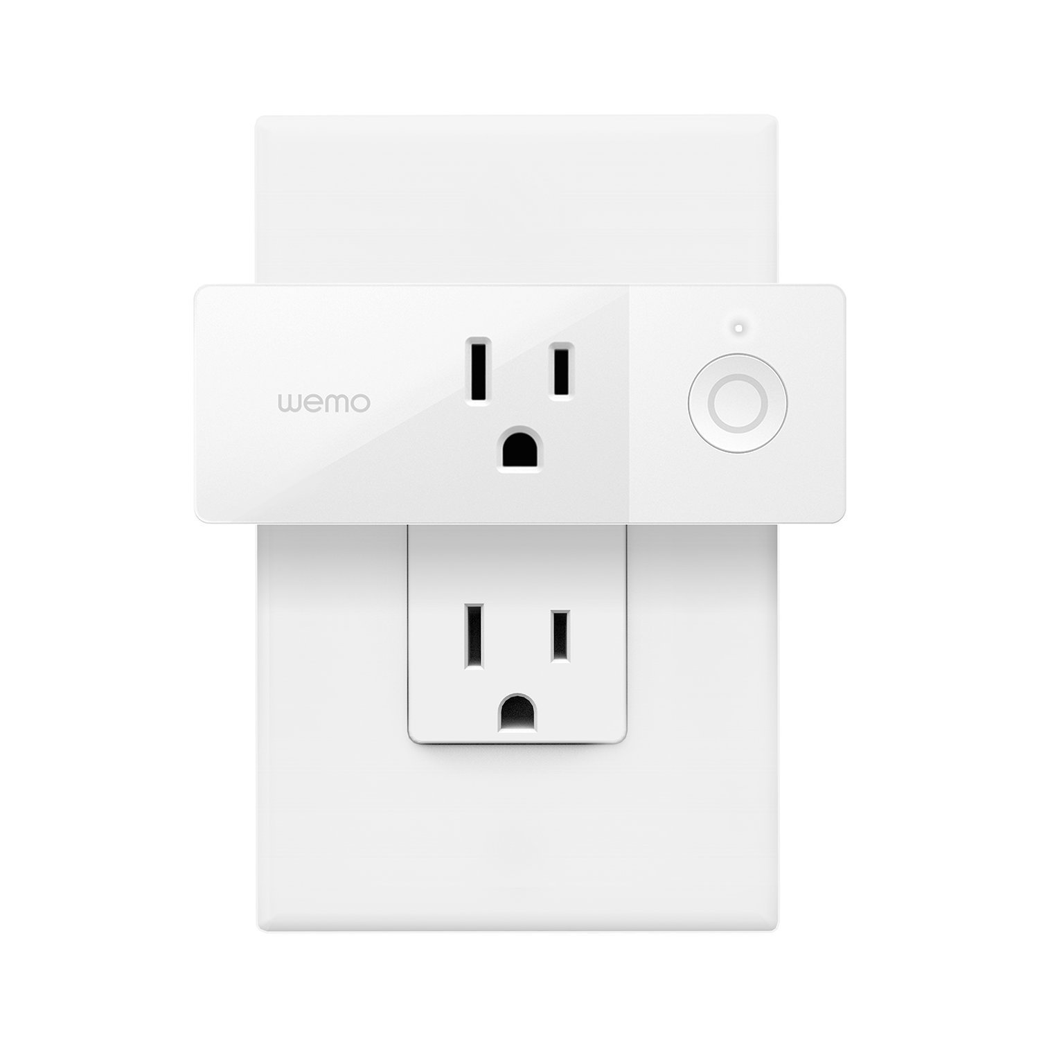 Wemo Mini Smart Plug, Wi-Fi Enabled, Compatible with Alexa and Google Assistant (Certified Refurbished)