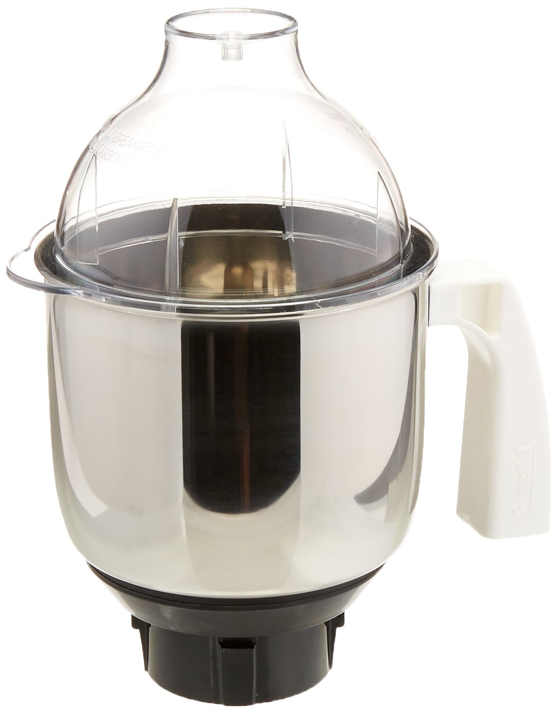 Preethi MGA 513 Mixer Jar for Eco Twin, Eco Plus/Chef Pro and Blue Leaf, 1.50-Liter, Silver by Preethi