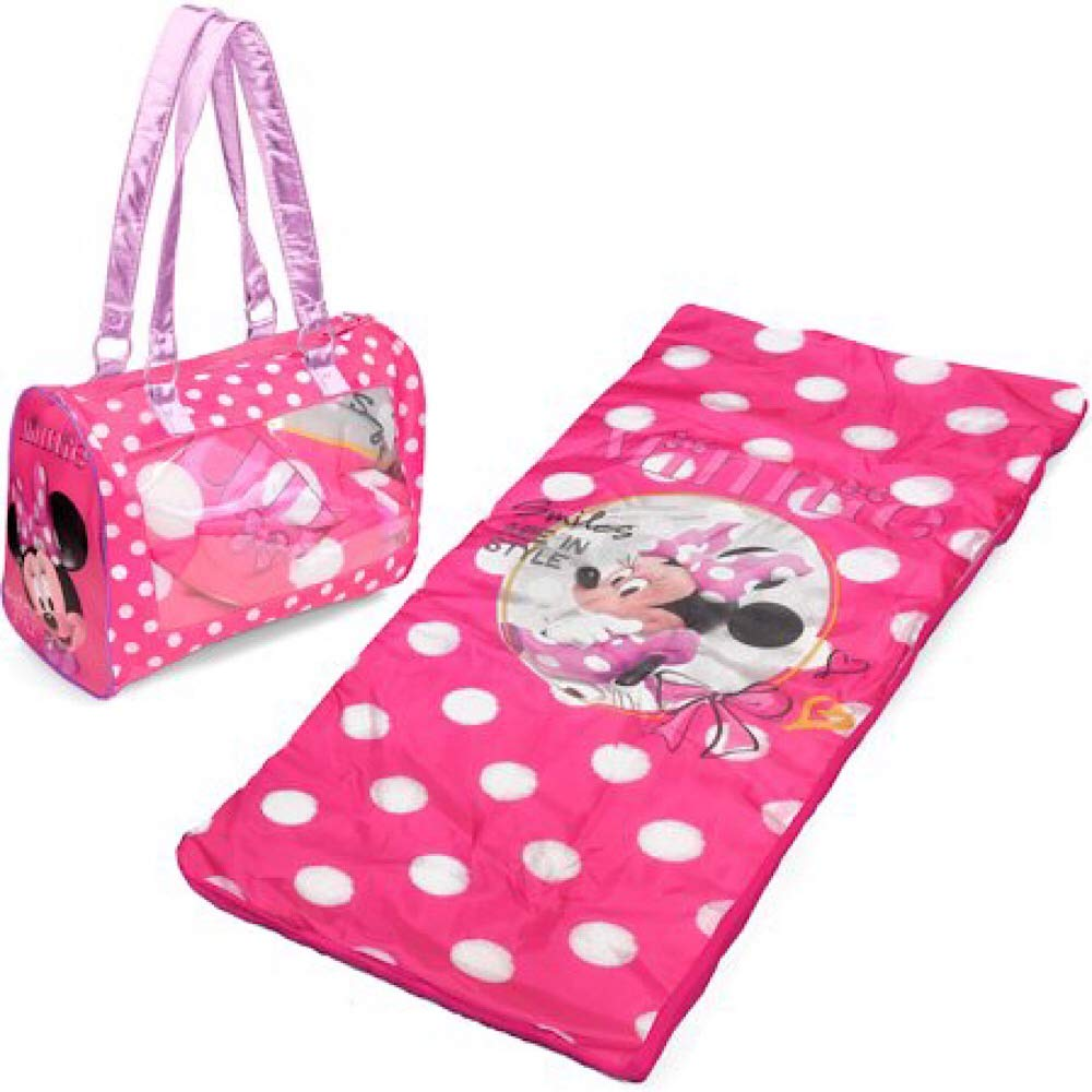 Minnie Mouse Sleeping Bag and Carry Bag Set