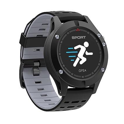 Amazon.com: MOREFINE Bluetooth Smartwatch Fitness Tracker al ...
