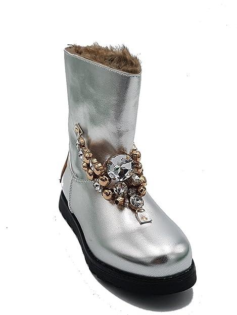 Scarpe Shoes Stivali con pelliccia Invernali Bambina