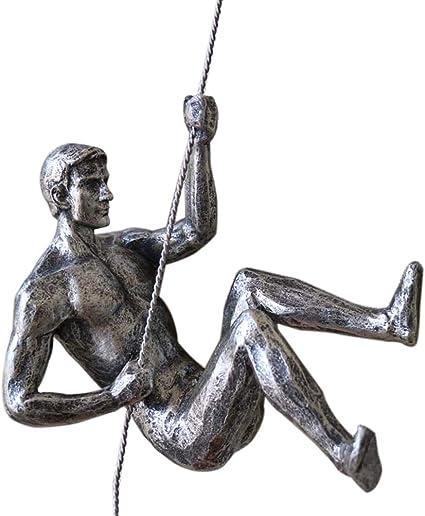 Da Jia Inc - Escultura de Resina única para Escalada de ...