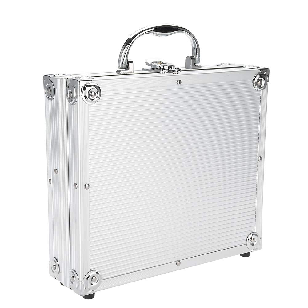 1PC Tattoo Box Alloy Tattoo Storage Box Traveling Convention Carry Bag for Storage