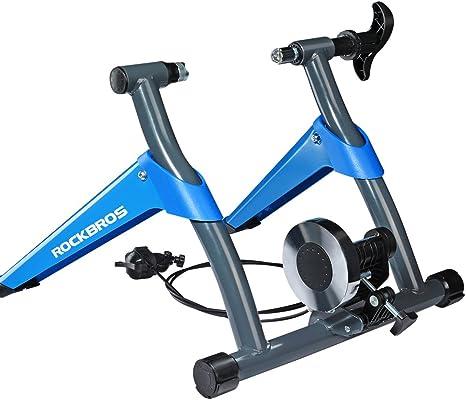 ROCKBROS Rodillo de Bicicleta Plegable de Resistencia Magnética ...