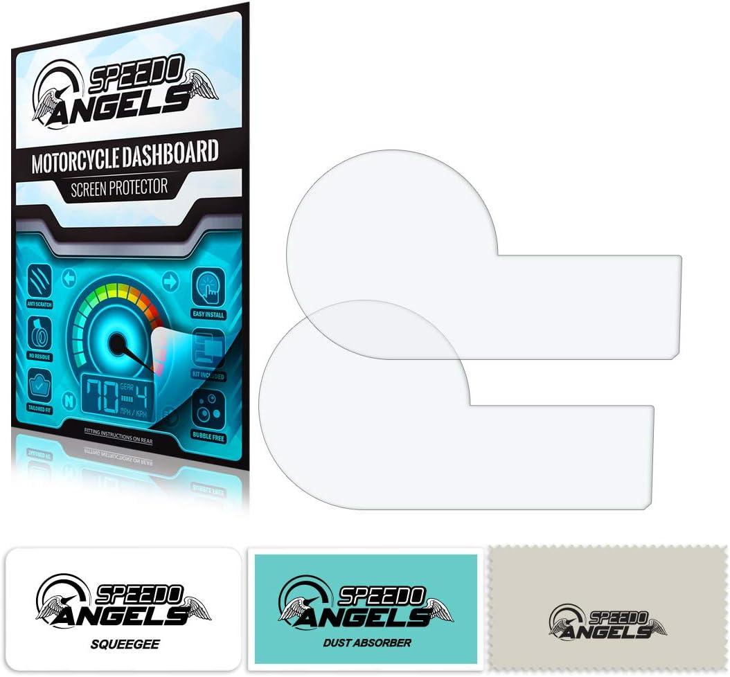 Speedo Angels Sabm611 Dashboard Screen Protector for BMW S 1000 R 1 x Ultra Clear /& 1 x Anti Glare 2015+